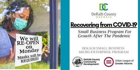 Recovering Your Small Business From COVID-19  INFO SESSION 6/8 tickets