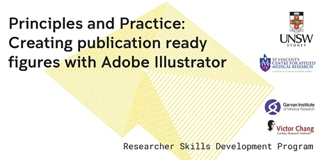 Creating publication ready figures with Adobe Illustrator tickets