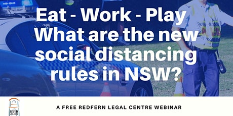 Eat-Work-Play: What are the new social distancing rules in NSW? tickets