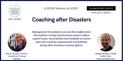 IMCA COACHING THROUGH DISASTERS