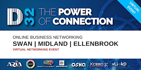 District32 Business Networking Perth – Swan / Midland / Ellenbrook - Fri 12th June tickets