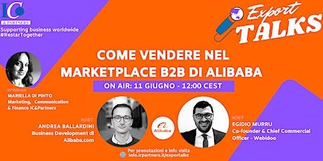 Export Talks - Focus ALIBABA biglietti