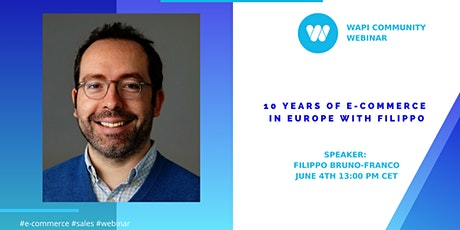 10 Years of E-commerce in Europe with Filippo tickets