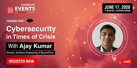 Cybersecurity in Times of Crises tickets