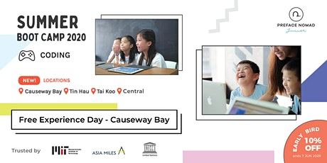 2020 Summer Coding Camp Experience Day | Causeway Bay | Preface Nomad Junior tickets
