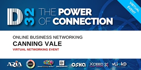 District32 Business Networking Perth – Canning Vale - Thu 25th June tickets
