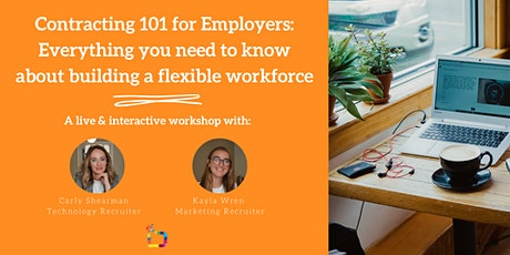 Contracting 101 for Employers: Everything you need to know tickets
