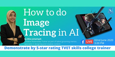 SG Academy - How To Do Image Tracing in AI biglietti
