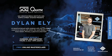 Dylan Ely Masterclass Series | Session 1: Careers and Industry tickets