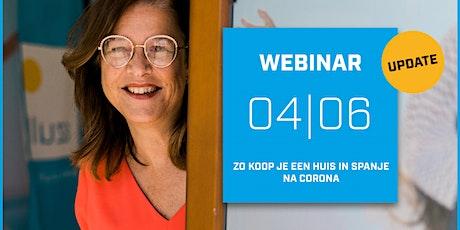 Al wat je moet weten over Spaans vastgoed kopen na corona04/06/2020 tickets