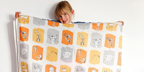 HANDPRINT YOUR KIDS ART ONTO FABRIC tickets