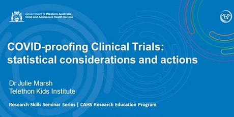 COVID-proofing Clinical Trials: statistical considerations and actions tickets