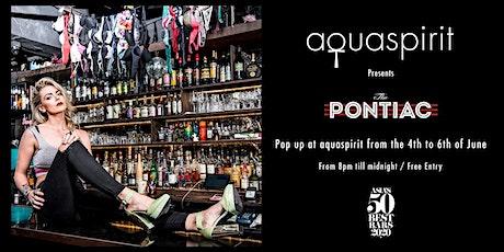 Aqua Spirit presents 3 nights of Pontiac tickets
