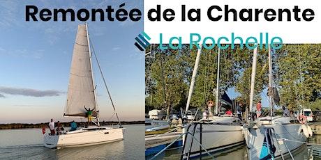 Rallye voile : Remontée de la Charente billets