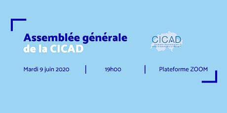 Assemblée générale de la CICAD billets