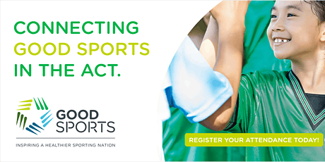 Connecting Good Sports in the ACT Webinar tickets
