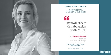 Virtual Morning Session: Remote Team Collaboration with Mural tickets