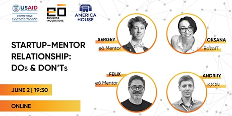 Startup-Mentor Relationship: Dos and Don'ts tickets