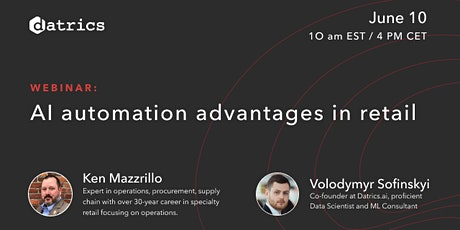 Fee webinar:  AI automation advantages in Retail tickets