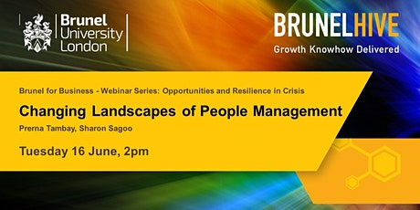 Brunel for Business - Changing Landscapes of People Management tickets