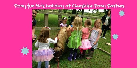 Princesses & Kings themed pony afternoon tickets