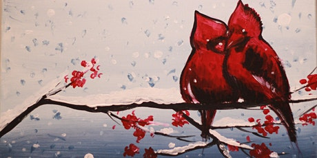Chill & Paint Night  Auck City Hotel  - Cardinal Birds in Winter tickets