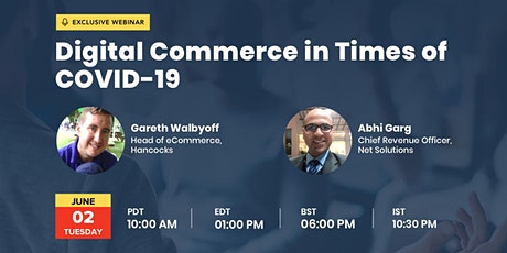 Digital Commerce in Times of COVID-19 tickets