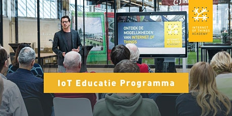 Lancering IoT Educatie Programma tickets