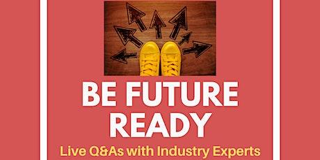 Be Future Ready - Virtual Q&A with Alumnus, Ben Michaelis tickets