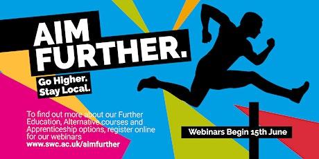 Aim Further Webinar - Access Courses tickets