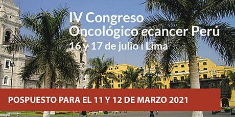 IV Congreso Oncólogico ecancer- Liga Contra el Cancer Perú billets