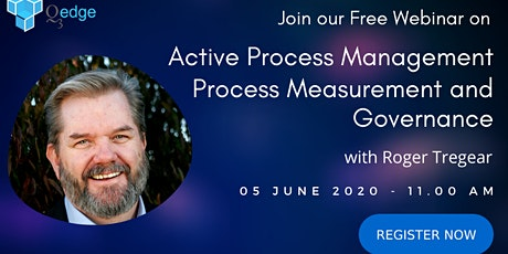 Free Webinar - Active Process Management Process Measurement And Governance tickets