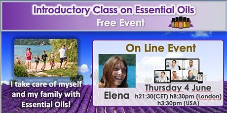 VIDEOCONFERENCE - Free Class on Pure Essential Oils tickets