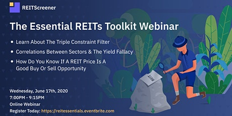 The Essential REITs Toolkit Webinar tickets