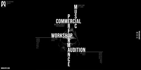 VNYX | Performing Commercial Music Workshop tickets
