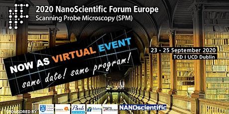 2020 NanoScientific Forum Europe [NSFE2020] tickets