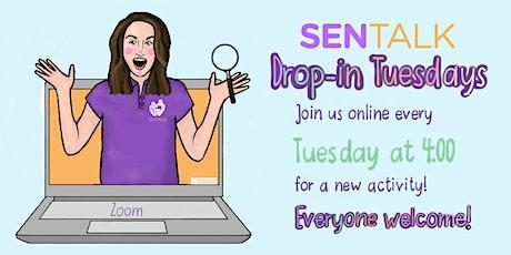 SEN Talk - Drop-In Tuesdays online children's activity tickets