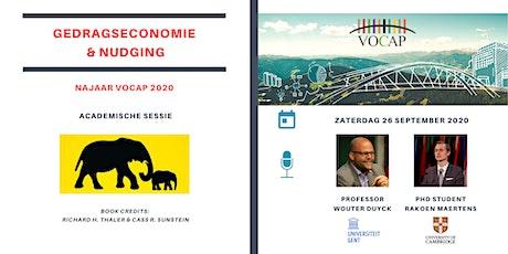 VOCAP Themareeks Gedragseconomie & Nudging | Deel 2: Academische Sessie | Wouter Duyck & Rakoen Maertens tickets