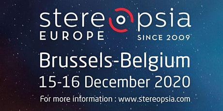Stereopsia  Europe, World Immersion Forum tickets