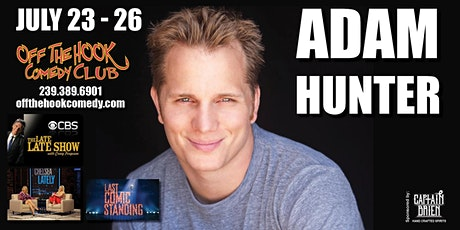 Comedian Adam Hunter live at Off the hook Comedy club tickets