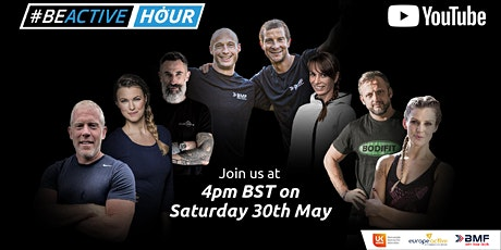 #BeActive Hour - Live Workout with Bear Grylls tickets