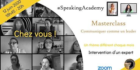 Masterclasses de la Speaking Academy billets