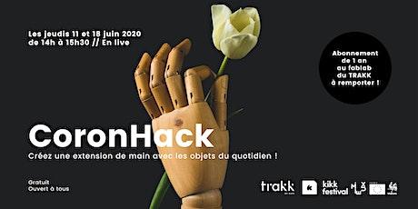 CoronHack TRAKK tickets