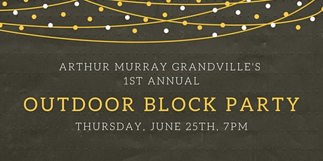 Outdoor Block Party! tickets