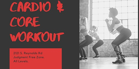 Cardio & Core Workout with Sheree tickets