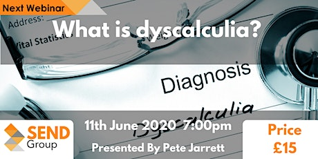 What is dyscalculia? tickets