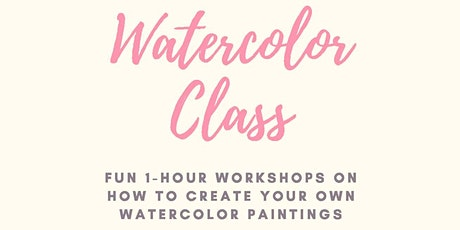 Watercolor Class With Megan Jefferson tickets