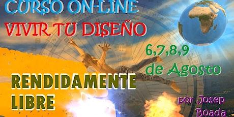 CURSO VIVIR tu DISEÑO On-Line bilhetes