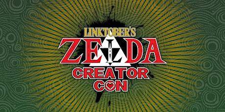 Linktober's Zelda Creator Con Online tickets