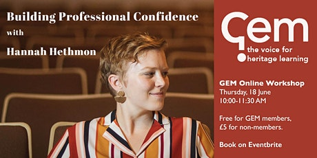 Building Professional Confidence tickets